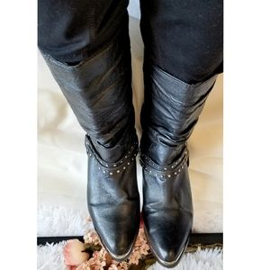 Vintage Dingo slouch pebbled leather cowboy boots!